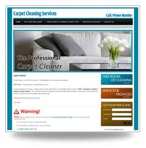 Carpet cleaning websites design free carpet cleaning website template saigontimesfo